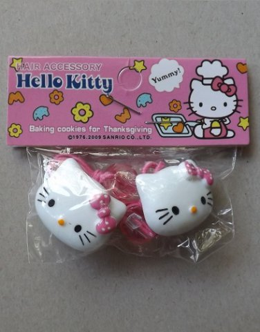 HELLO KITTY BEAUTIFUL HAIR DECORATIONS IN PINK