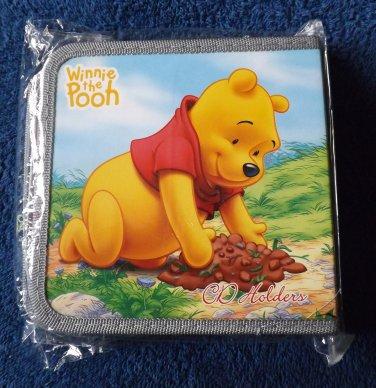 WINNIE THE POOH FORTY CD DVD HOLDER FOLDER