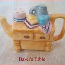 Red Rose Canadian  Tea Premium Mini-Teapot Baker's Table