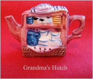 Red Rose Canadian  Tea Premium Mini-Teapot Grandma's Hutch