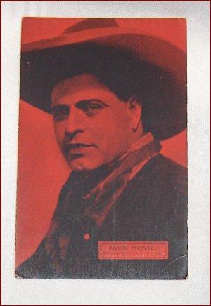 Vintage Western Postcard Jack Hoxie