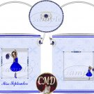 Ballerina Birthstone Gift Can - template - SEPTEMBER