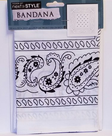 Bandana for fashion and crafting WB