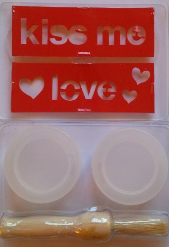 Valentine and Love Theme Stencil Kit - ON SALE NOW!