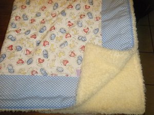 Farm Friends Baby/Toddler Blanket
