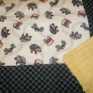 Monster Trucks Baby/Toddler Blanket