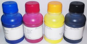 Pigment Ink for Epson by QualityBits� - UV-resistance, Water Proof, Never fading - 400ML CMYK
