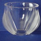 "Lalique Tulips Vase/Bowl ~ ""Deux Tulipes"", MINT Condition ~"
