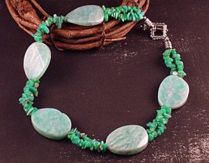 Green amazonite