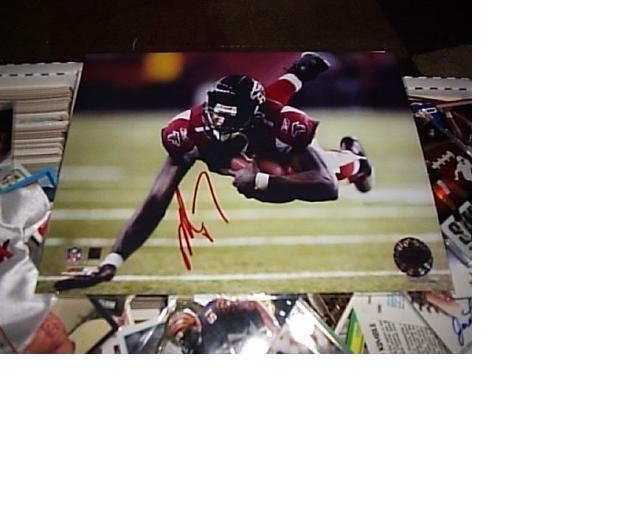 Michael Vick, Signed Autographed Picture