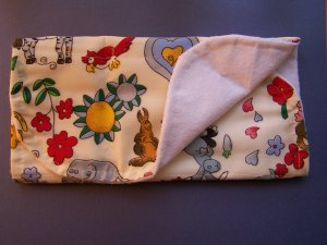 Animal Safari Burp Cloth