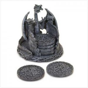 Dragon Holder Coaster Set