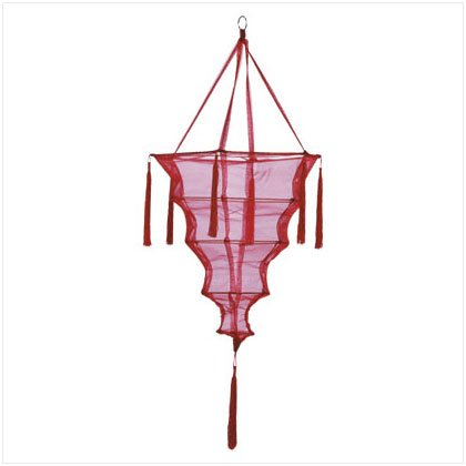 Red Fabric Lantern