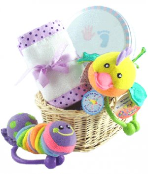 The Crinkle Gift Basket