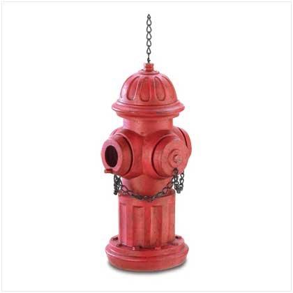 Fire Hydrant Birdhouse