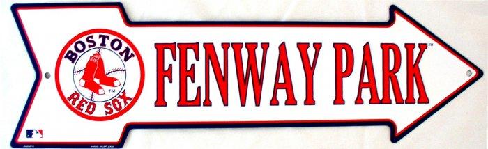 FENWAY PARK BASEBALL BOSTON RED SOX MAJOR LEAGUE BASEBALL ARROW SIGNS
