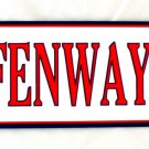 FENWAY PARK BASEBALL BOSTON RED SOX MAJOR LEAGUE BASEBALL ARROW SIGNS
