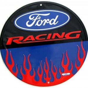 FORD RACING NASCAR HOTROD CIRCULAR SIGNS