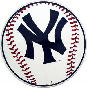 NEW YORK YANKEES BASEBALL MAJOR LEAGUE BASEBALL CIRCULAR SIGNS