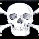 SKULL AND CROSS BONES LICENSE PLATES