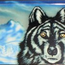 WOLF IN WINTER SCENE LICENSE PLATES