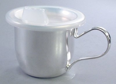 Silver Plated Baby Cup