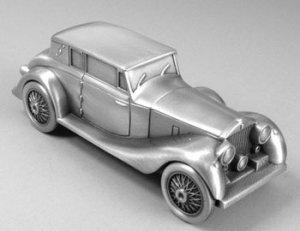Pewter Finish Luxury Car Bank