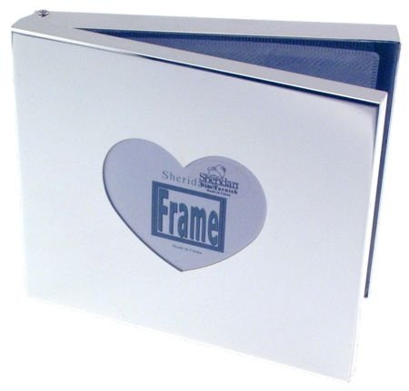CD/DVD Video Case with Heart Photo Insert