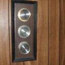 Vintage 3 instruments Weather Station Thermometer/Hygrometer/Barometer #55