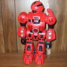 Robot RED unknown  lights up and looks like a bad dude MIGHT NEED REPAIR