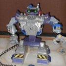 HUGE Rescue Heroes Robot w/ remote control winch claw