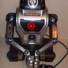 Buster vintage remote controlled robot, tracked & armed
