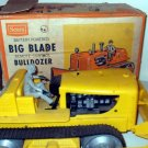 "BullDozer Sears ""Big Blade"" Remote Control 9X12X18 Box w Vintage Toy need repair"