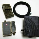 NetWork Lot 2 Cable Modems RF Cable Network Cable Tester, Smoke Damaged **