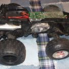 Remote control 4 Wheeler Quad Runner Chassis w receiver NO remote HIGH SPEED **