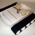 Robot Tank Track Unit Base Rubber Tracks 6V volt Drive Motors 2 Solderless Board