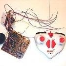 Robot Vehicle RC Radio Remote Control + Receiver Circuit 6V lights 5 motor audio