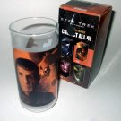 STAR TREK Collectible SPOCK Drinking Glass 1 of 4 old & young Spock Vulcan SHIPS