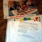 MB Vintage Twister Game copyright 1966 the game that ties you up in knots