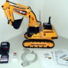 RC RF custom 8ch remote controlled RC CAT EXCAVATOR PC program PICAXE 1800 lines