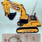 RC RF custom 6ch remote controlled RC CAT EXCAVATOR PC program PICAXE 1800 lines