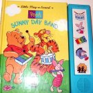 Pooh - Sunny Day Band : Little Play-a-Sound (1995, Hardcover) needs battery