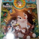 Holiday Easter Play a Song Disney Bunnies (2010, Board Book)