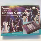 Chess Computer Radioshack Portable 1750L Early First Chess Game missing pieces