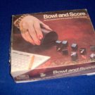 vintage 1975 Bowl And Score Dice Game by Lowe