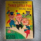 Read and Color Three Little Pigs and other Stories