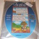 """Sequined Custom Calendar kit Full Color 14""""X24"""" Magnets"""