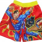 2T Justice League Toddler Boys Swim Trunks Size 2T