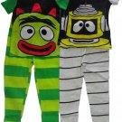 3T Komar Kids Little Boys' Yo Gabba Gabba Short Sleeve 4 Pack Cotton Set Size 3T
