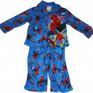 2T Marvel Spiderman 2 Piece Long Sleeve Pajama Sleepwear Little Boys Size 2T